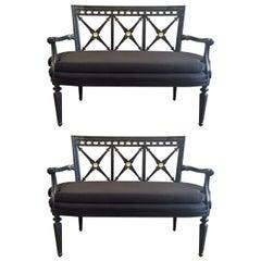 Two Louis XIV Style Sofas