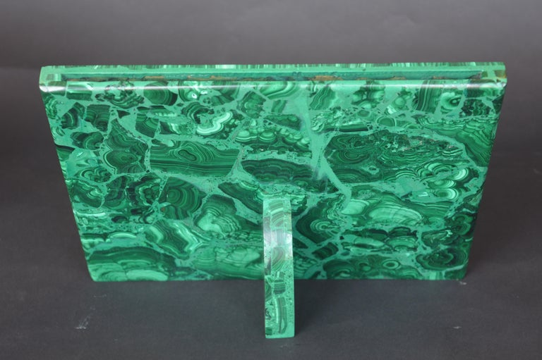 Two Malachite Picture Frames For Sale 1