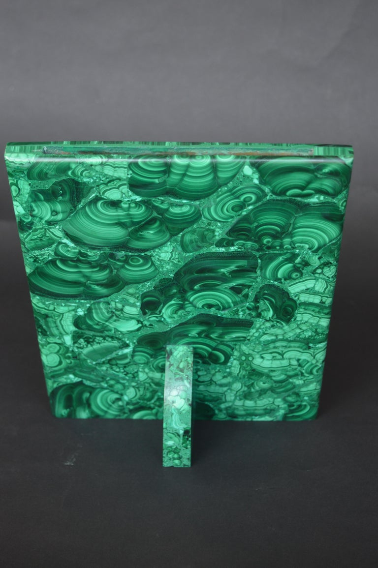 Two Malachite Picture Frames For Sale 3