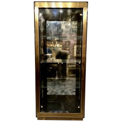 Two Mastercraft Display Cabinets