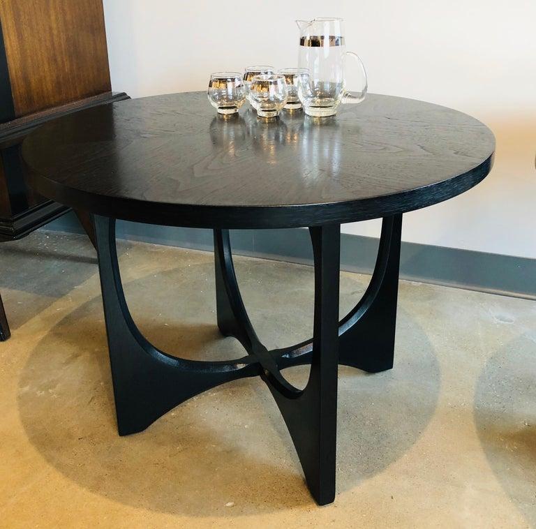 Enjoyable Two Mid Century Modern Broyhill Brasilia Wood Side Or Coffee Tables Uwap Interior Chair Design Uwaporg
