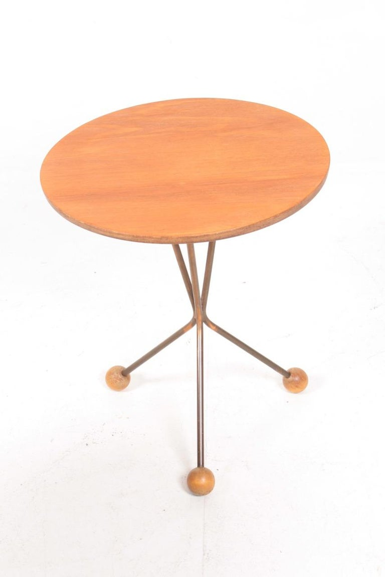 Swedish Two  Midcentury Side Tables in Teak by Albert Larsson, 1960s