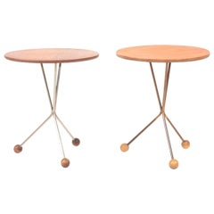 Two  Midcentury Side Tables in Teak by Albert Larsson, 1960s