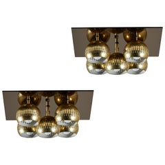 Two Model 14164 Wall or Ceiling Lights by Arredoluce