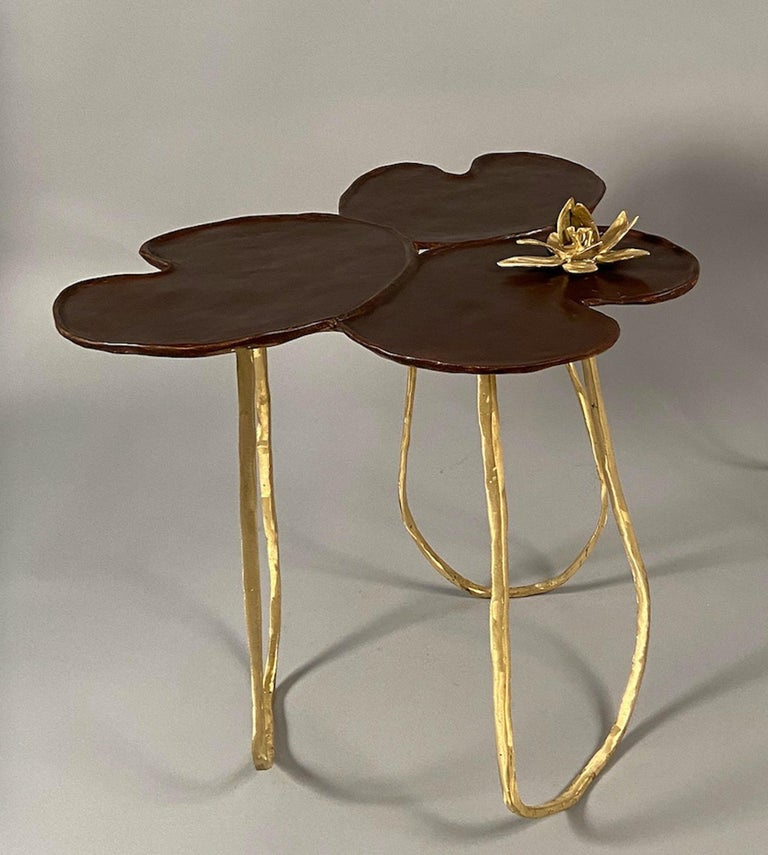"""Two """"Nénuphar"""" Side Tables"""