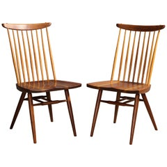 "Two ""New Chairs"", by George Nakashima"