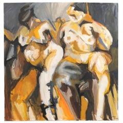 Two Nude Figures, Artist Mac Terman