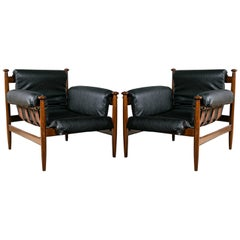 Two Pair of Finn Juhl Style Lounge Chairs Price Per Pair