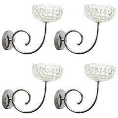 Two Pairs of Bowl Sconces