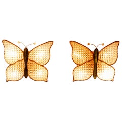 Two Palwa Butterflies Lamps