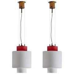 Two Pendants by Stilnovo
