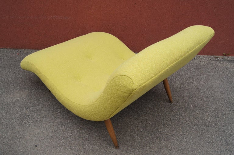 Two Person Wave Chaise Longue By Adrian Pearsall For Craft