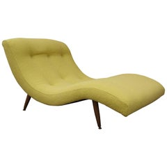 Two-Person Wave Chaise Longue by Adrian Pearsall for Craft Associates