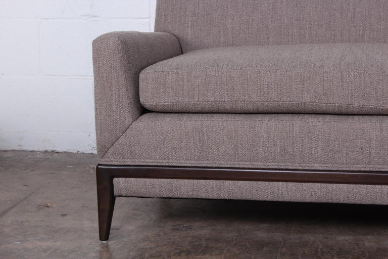 Two Piece Sofa by Tommi Parzinger For Sale 5