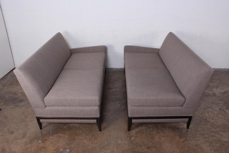 Two Piece Sofa by Tommi Parzinger For Sale 8