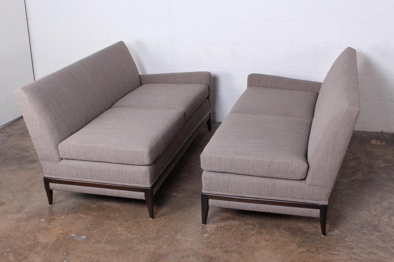 Two Piece Sofa by Tommi Parzinger For Sale 9