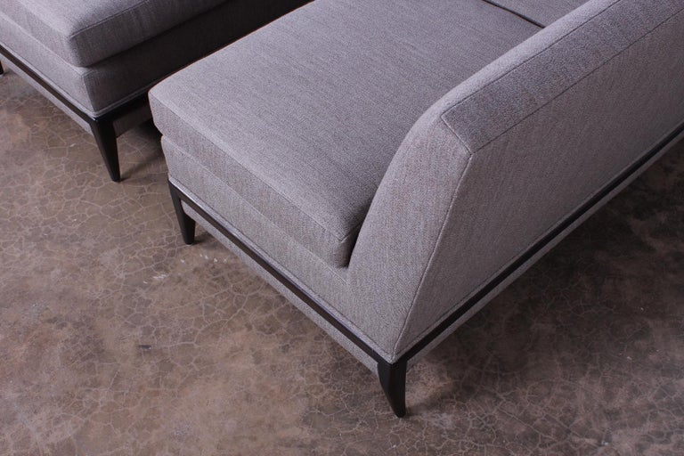 Two Piece Sofa by Tommi Parzinger For Sale 10