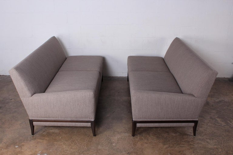 Two Piece Sofa by Tommi Parzinger In Good Condition For Sale In Dallas, TX