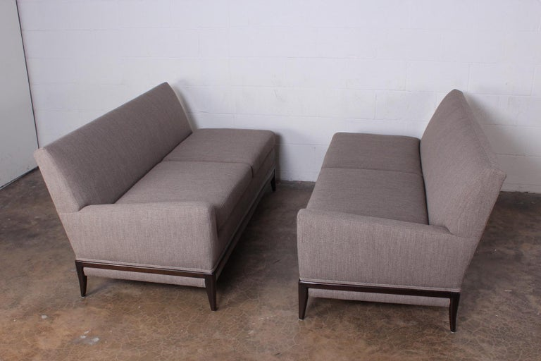 Mid-20th Century Two Piece Sofa by Tommi Parzinger For Sale