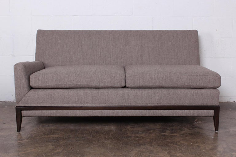 Two Piece Sofa by Tommi Parzinger For Sale 4