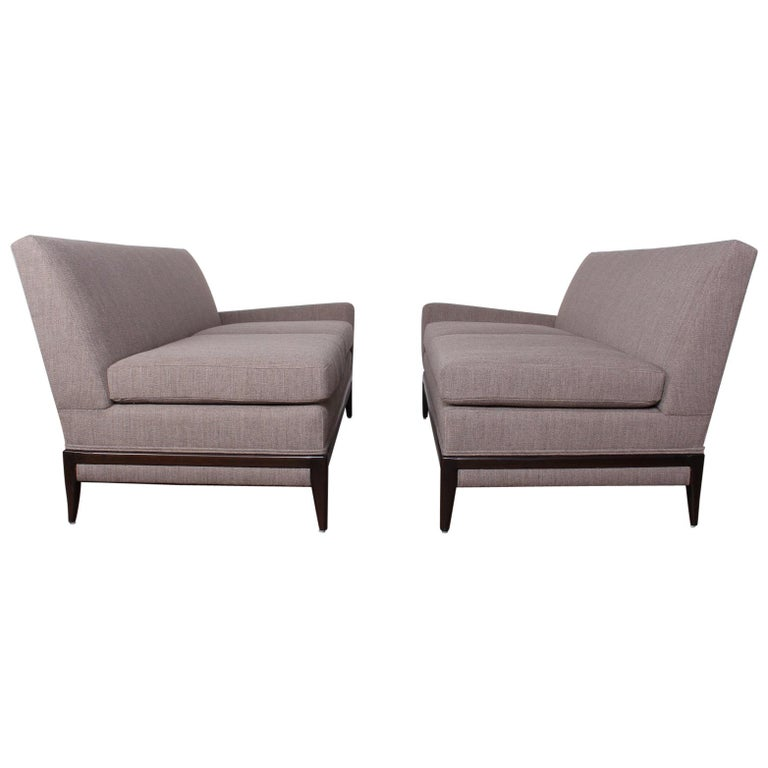 Two Piece Sofa by Tommi Parzinger For Sale