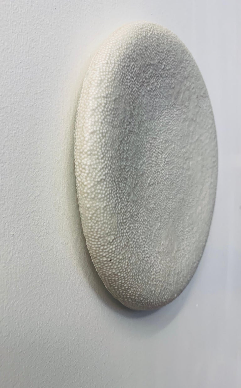 Contemporary Two Porcelain Wall Sculptures
