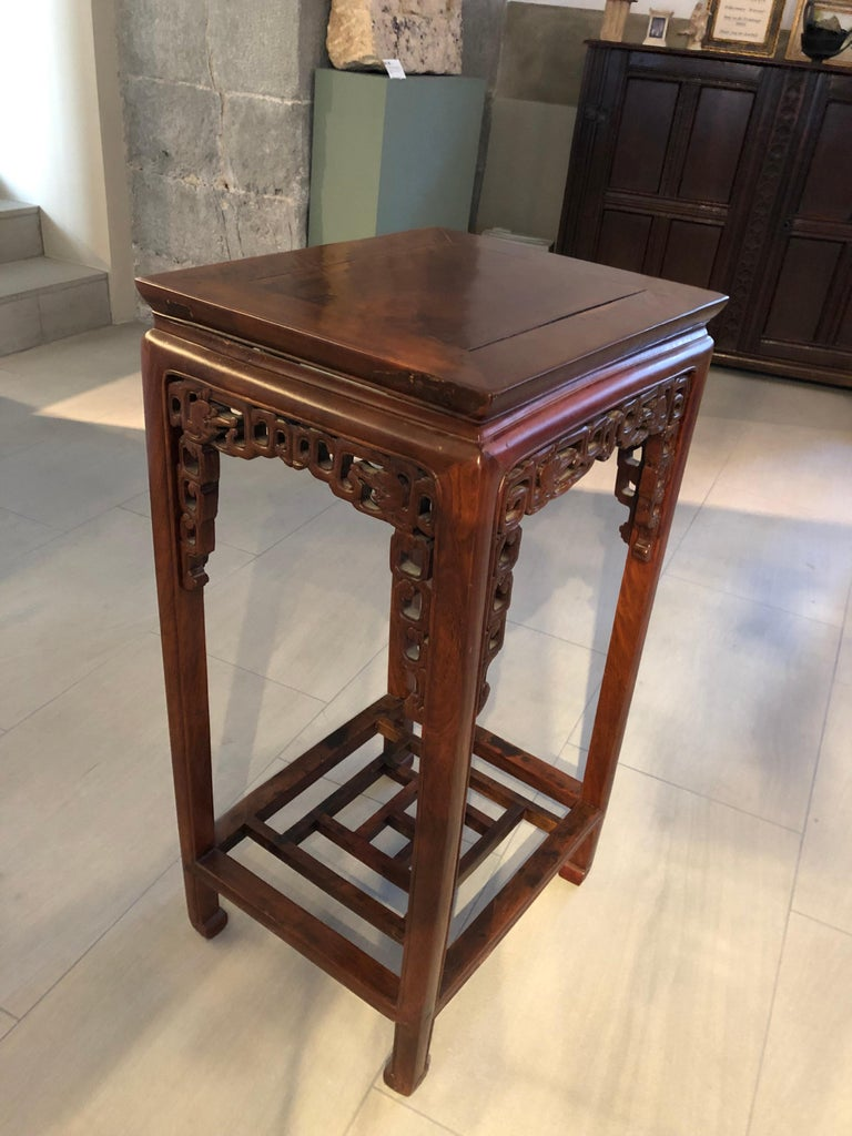 Two Qing Dynasty Side Tables, Late 19th Century In Good Condition For Sale In London, GB