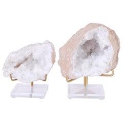 Two Quartz Geode Specimens, Priced Individually