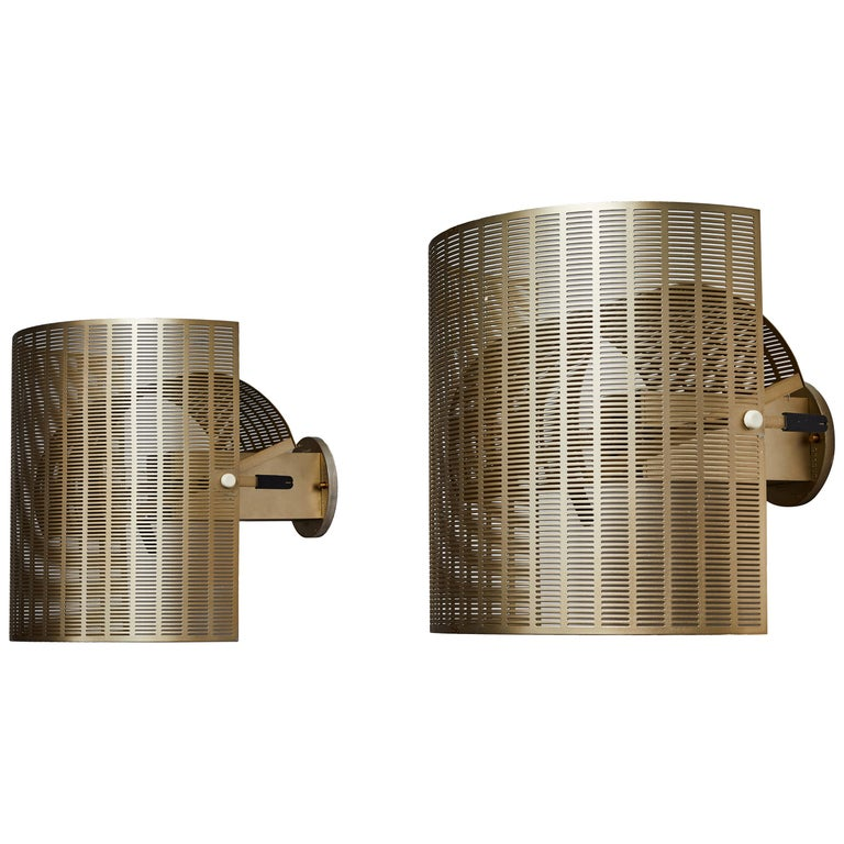 Two Rare Shogun Sconces by Mario Botta For Sale