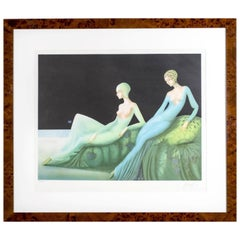 Two Reclining Women Philippe Auge