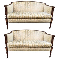 Two Regency Style Sofas