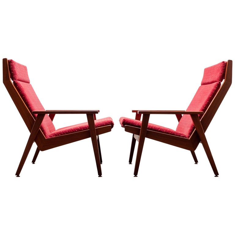 Incredible Two Rob Parry Lotus Lounge Chairs 1950S Pdpeps Interior Chair Design Pdpepsorg