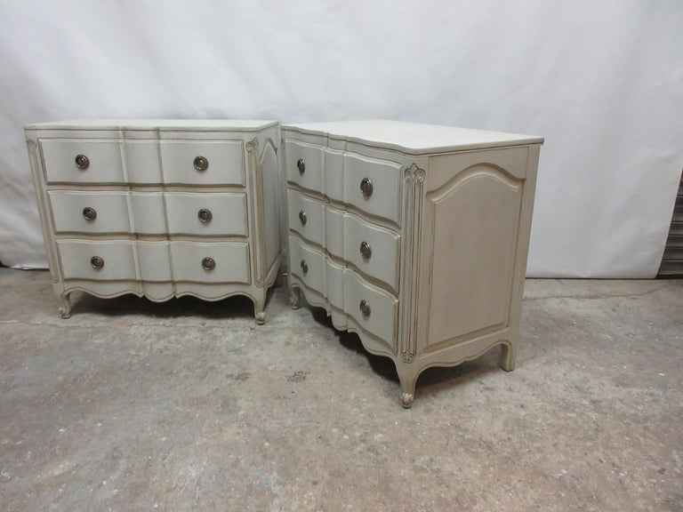 Two Rococo Style Chest of Drawers In Good Condition For Sale In Hollywood, FL