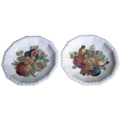 Two Rosenthal Fruit Platters, Maria, Germany