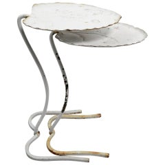 Two Salterini Lilly Pad Leaf Nesting Tables
