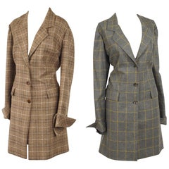 Two Sam Kori George Courture Atelier Cashmere Coats. Appox Size 12-14