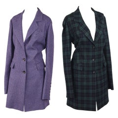 Two Sam Kori George Courture Atelier Cashmere Coats. Approx. Size 12-14