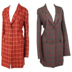 Two Sam Kori George Couture Atelier Cashmere Coats.  App size 12-14.