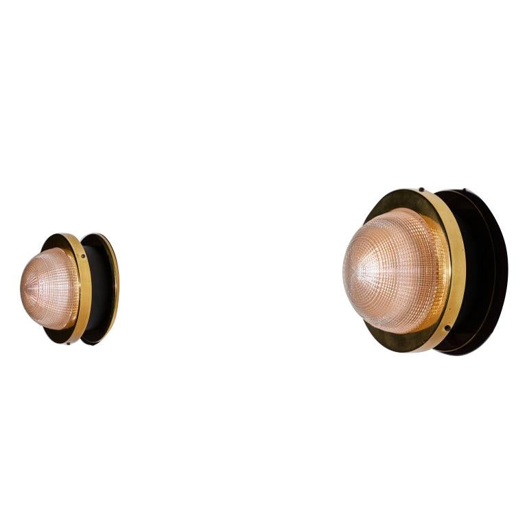 Two Sconces by Stilnovo For Sale