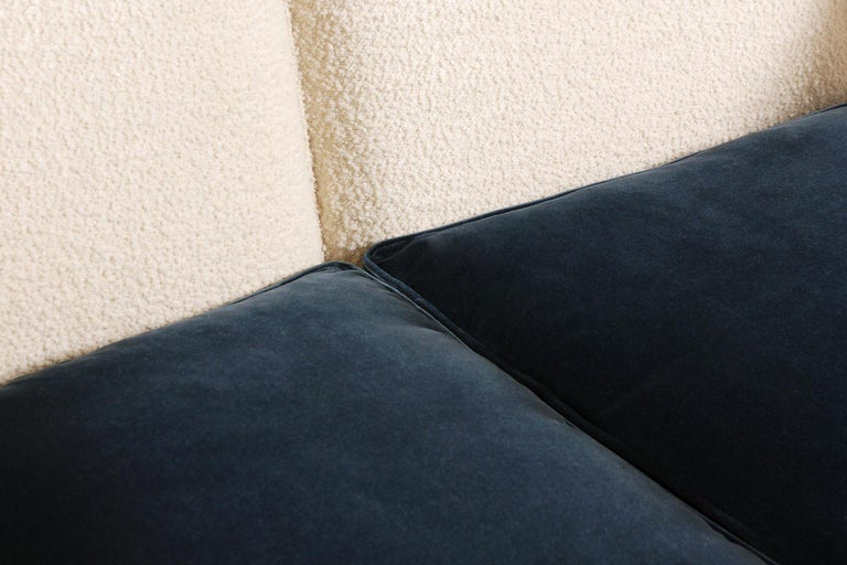 Two-Seat Sofa, Denmark, 1950, New Upholstery For Sale 3