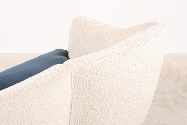 Two-Seat Sofa, Denmark, 1950, New Upholstery For Sale 2
