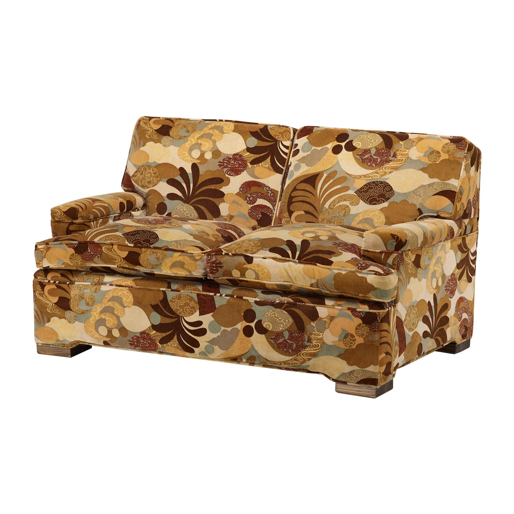 Two-Seat Sofa in the Manner of Jean-Michel Frank