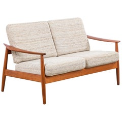Two-Seat Sofa 'Model 164' by Arne Vodder for France and Son, 1960s