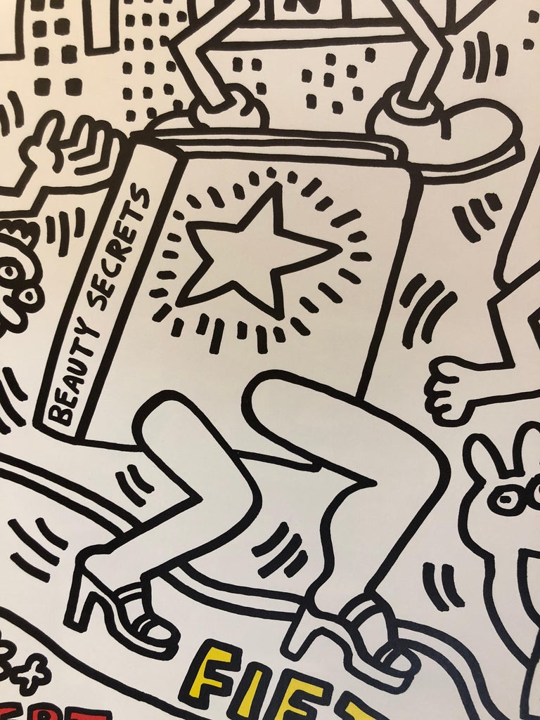 Two Signed Keith Haring Posters For Sale 4