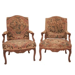 Two Similar Regence Armchairs, France, circa 1720