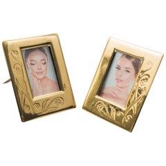 Two Small Jugendstil Picture Frames, circa 1908