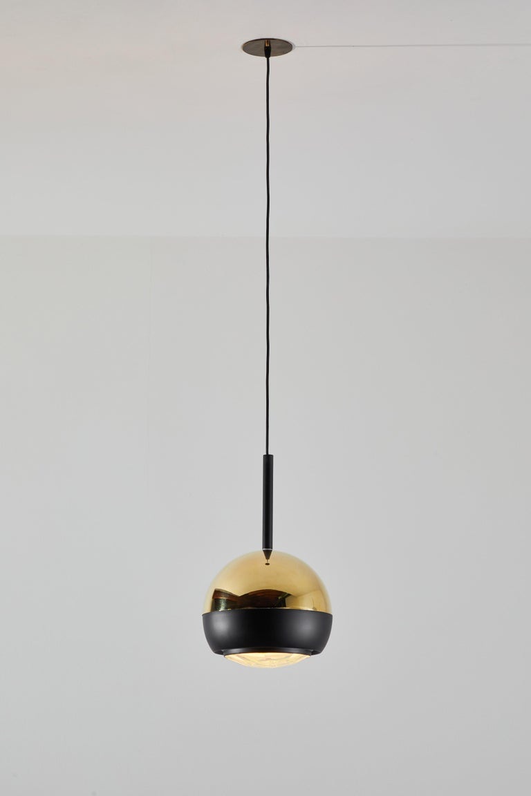 Two Suspension Lights by Stilnovo In Good Condition For Sale In Los Angeles, CA