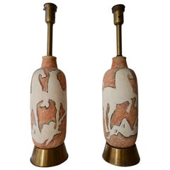 Two Table Lamps by Marcello Fantoni
