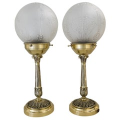Two Table Lamps, Vienna, circa 1920s