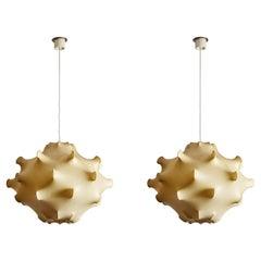 "One ""Taraxacum"" Suspension Light by Achille & Pier Giacomo Castiglioni for Flos"